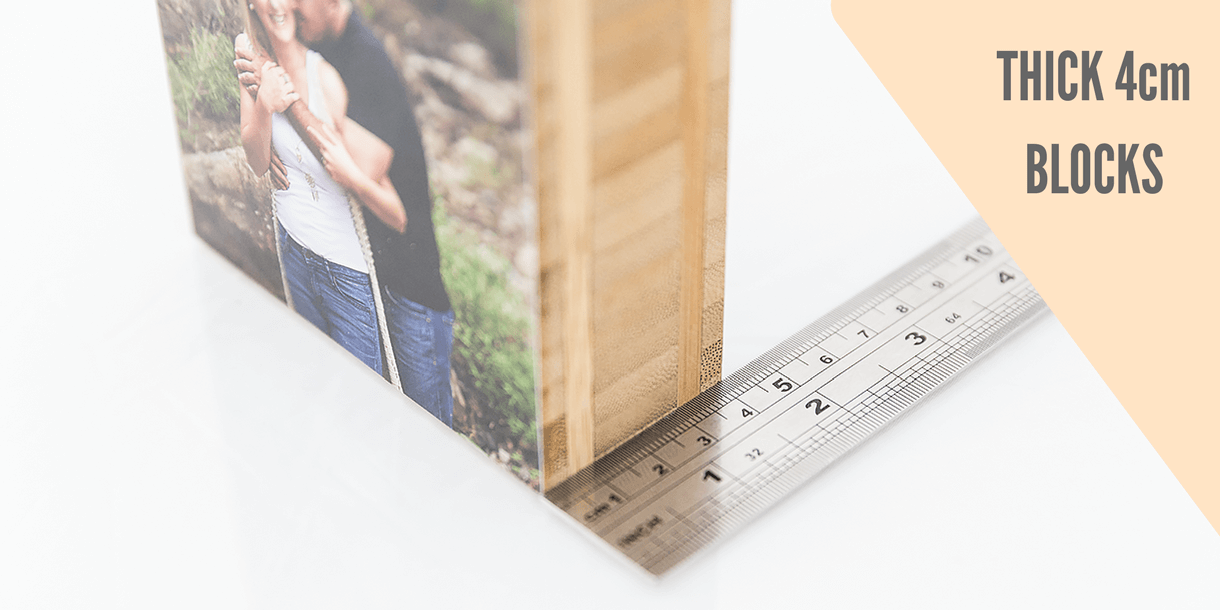 Photo Prints on Wooden Blocks